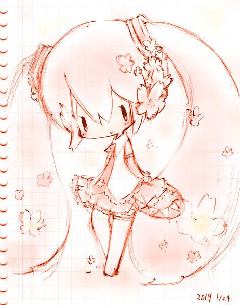 らくがき桜ミク