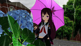 雨の日の如月