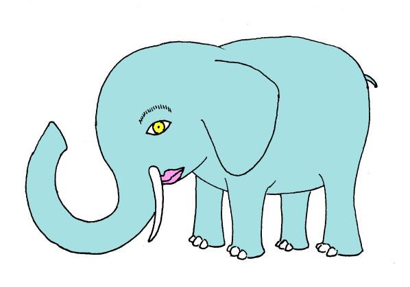 人顔動物⑨ ゾウ