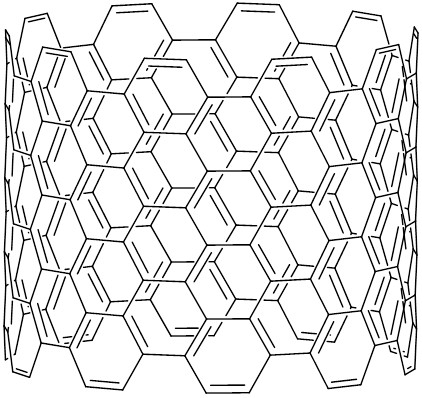 カーボンナノチューブの構造式