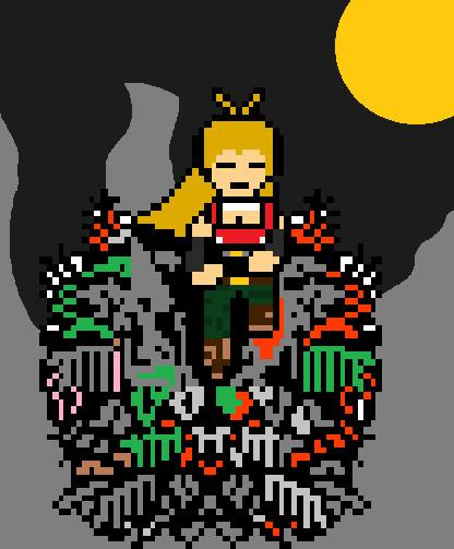 ゴミ山の大将マキ