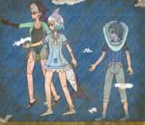【壁画】海底