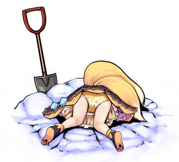 狐は埋める