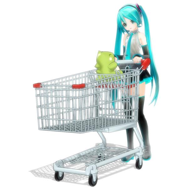 ショッピングカート Winglayer さんのイラスト ニコニコ静画 イラスト