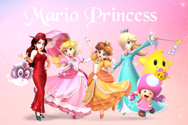 Mario ❤︎ Princess