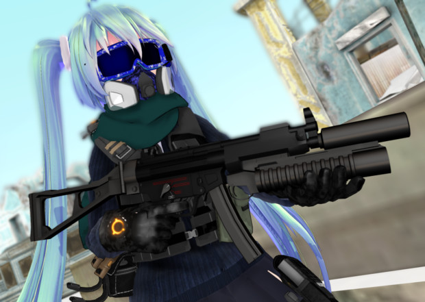 MP5A4+M203