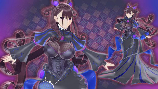 【MMD】紫式部 〔キャスター〕【モデル配布】