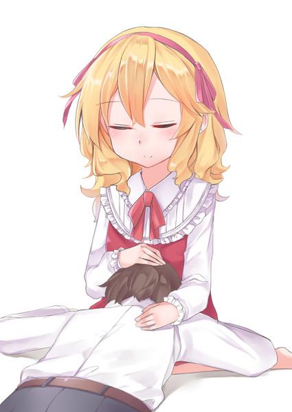 膝枕(正面