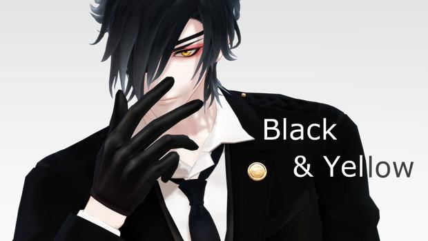 【MMD】Black and Yellow【モーション配布】