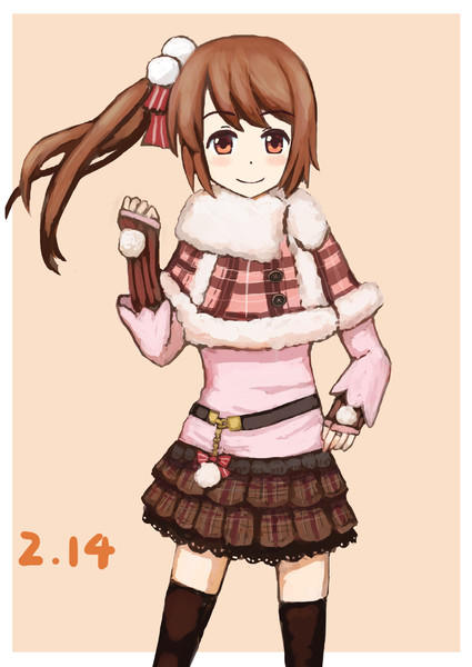 鶴乃ちゃん。(冬服)