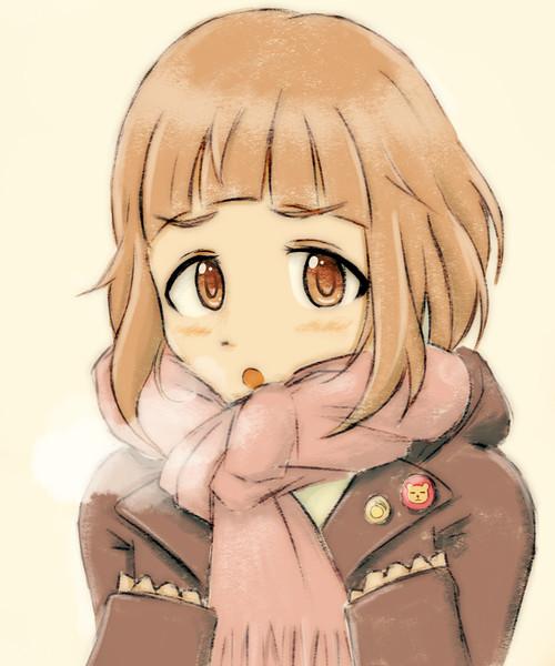 寒空の下で