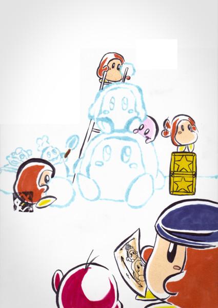 【もどき】雪のワドルディ