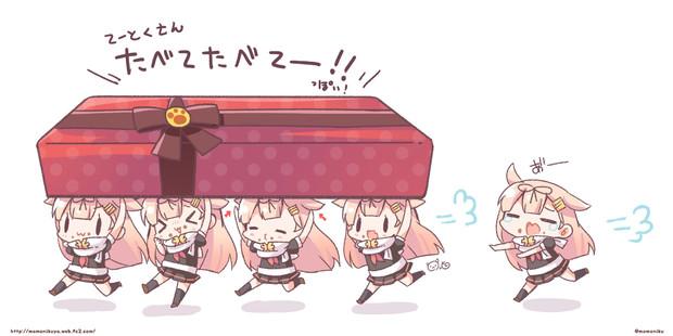バレンタインぽいぬちゃん2019