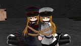 【MMD】軍人さん捕まえた