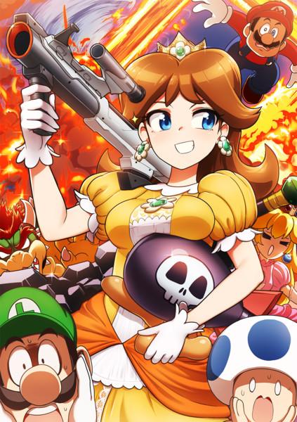 大乱闘を満喫するデイジー姫