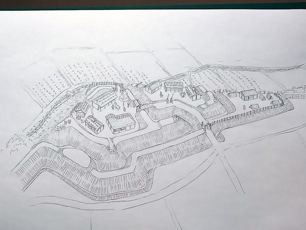 戦国の城 柏原城