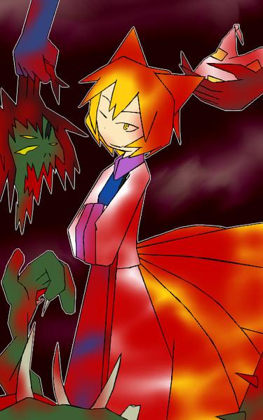 ワンドロ藍(血)