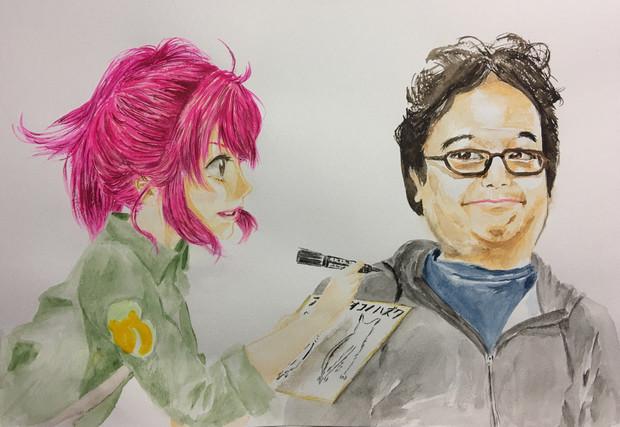 菜々と坂本先生