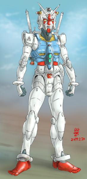 高機動型MS「ガンダム-ジェントルマン」