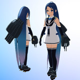 【MMDモデル更新】SSR式 艤装つき五月雨改ver1.10