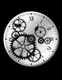 動画素材(早回し時計4)