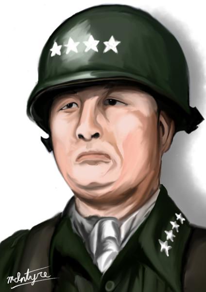 元大韓民国陸軍参謀総長・白善燁氏