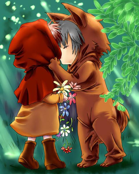 オオカミさんからのキス