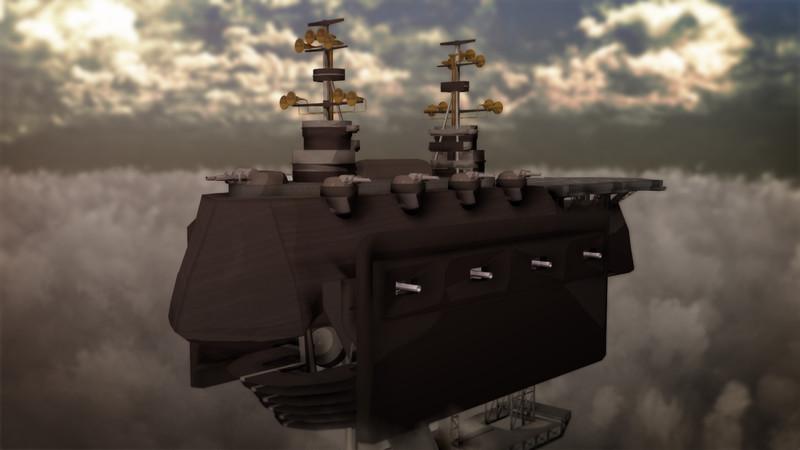 戦艦シルヴァーナ【MMD】