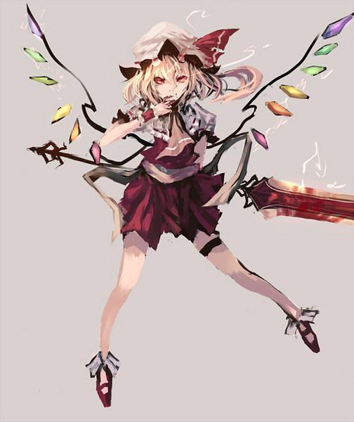 緋色の魔杖