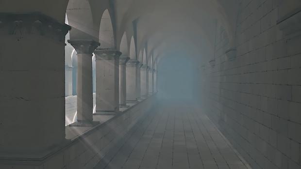 【フリー素材】アニメ風の宮殿・教会・監獄内部 その3