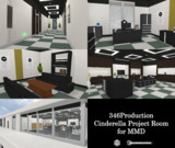 【MMD】Cinderella Project Room【配布】