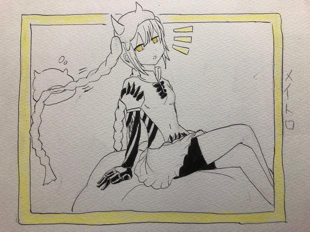 ワンドロ(深海雨雲姫)