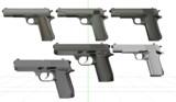 【MMD】7.63mm架空拳銃【配布】