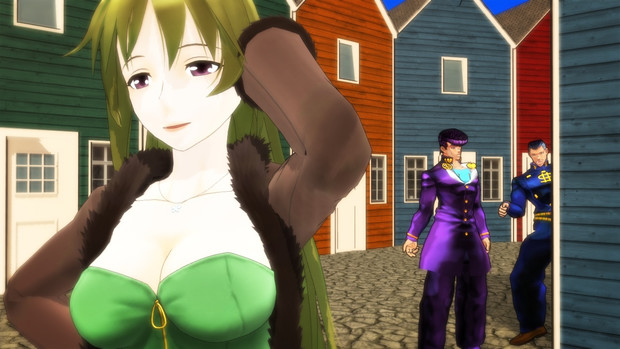 【Fate/MMD】魅了される若者たち【ジョジョMMD】