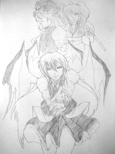 小悪魔と閻魔と死神