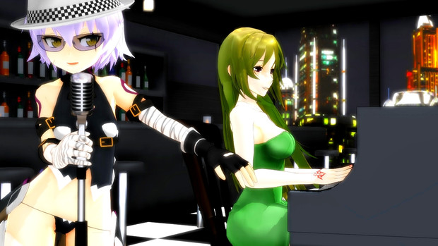 【Fate/MMD】シンガー黒殺親子・元絵