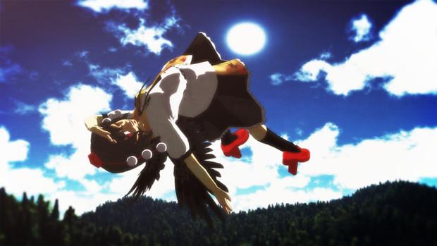 烏天狗の飛行