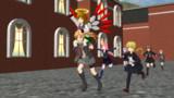 【第二回阿武隈静画イベ】駆逐艦と遊ぶ阿武隈【02鎮守府の日常】