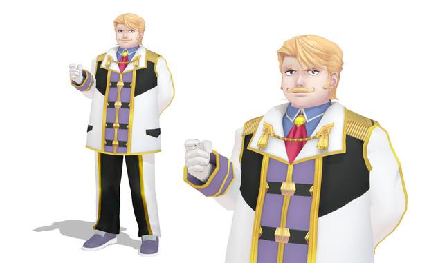 【Fate/MMD】ゴルドルフ・ムジーク【モデル配布】