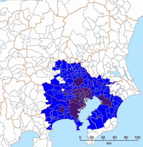 東京都市圏最新版
