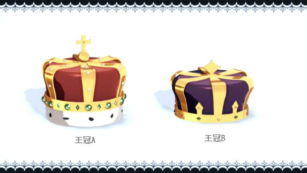 【MMDあんスタ】王冠セット【アクセサリ配布】