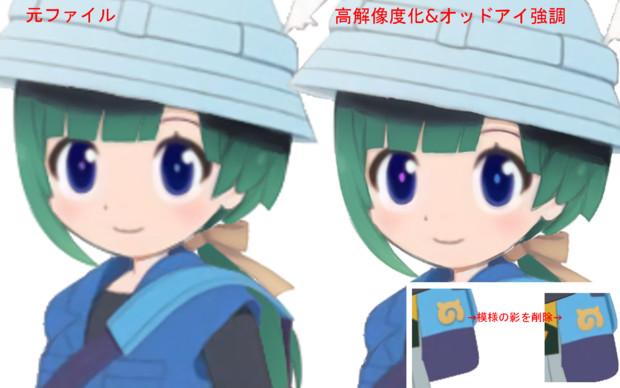 ともえちゃん高解像度化&マイナーチェンジ
