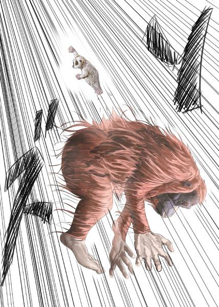 糞ざるパンチ たか さんのイラスト ニコニコ静画 イラスト