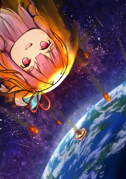 地球を滅ぼすべく襲来した茜ちゃん