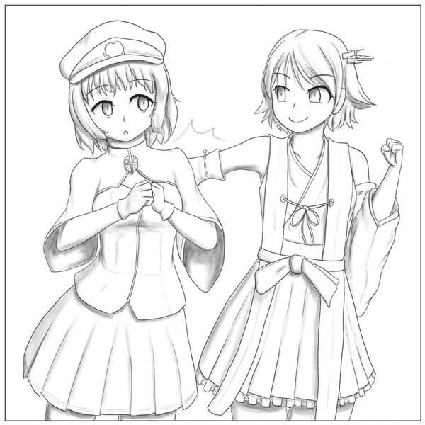 練習:二人の戦艦比叡