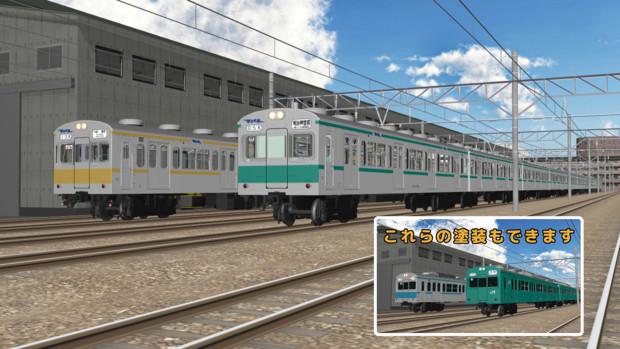 【モデル配布あり】103系(1000番台・1200番台)【MMD鉄道】