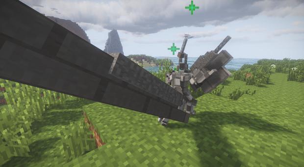 [Minecraft/JointBlock]JB製人型ロボ1号機君〈配布〉