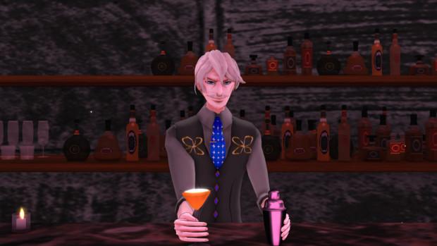 君のようなレディーに相応しいカクテルは、やはりコレ、『シンデレラ』だろうね。(Fate/MMD)
