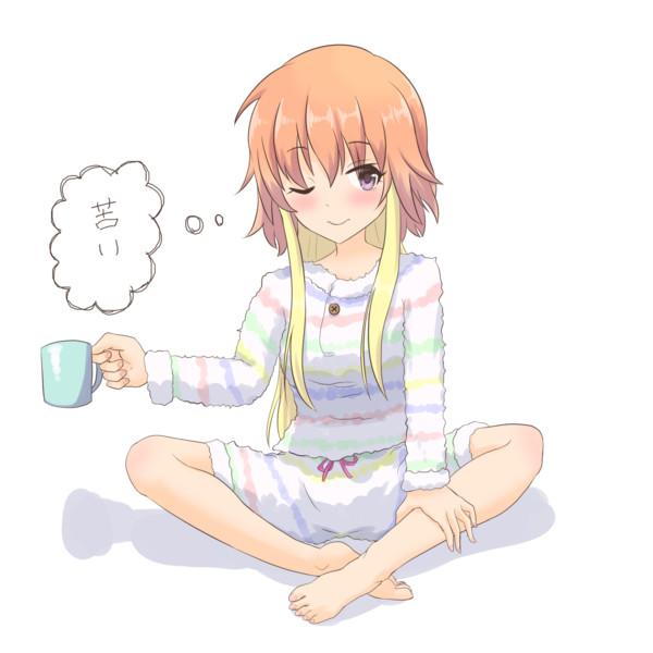 フッ…夜に飲むコーヒーもいいだろう?