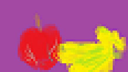 モザイクありの果物